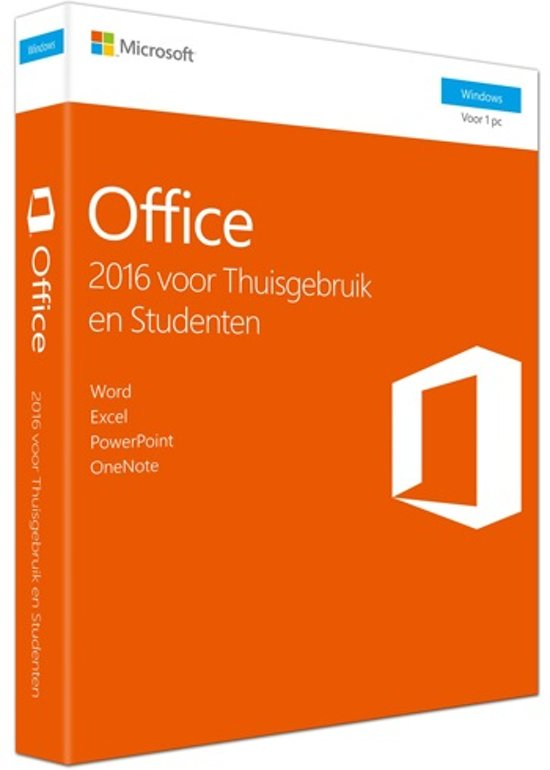microsoft office 2016 home & student dvd