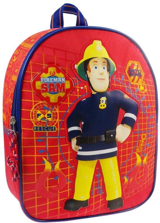 10374770a80 bol.com   Brandweerman Sam To The Rescue - Rugzak - Rood/Blauw/Geel