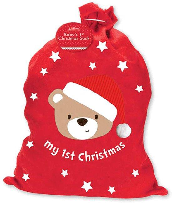 Kerst zak 3D My First Christmas