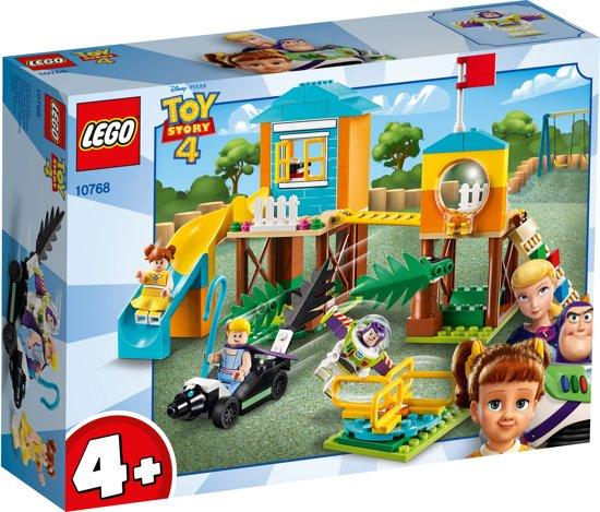 2b2dd06e9d2feb LEGO 4+ Toy Story 4 Speeltuinavontuur van Buzz en Bo Peep - 10768