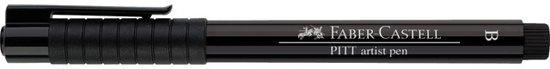 tekenstift Faber Castell Pitt Artist Pen Brush 199 zwart