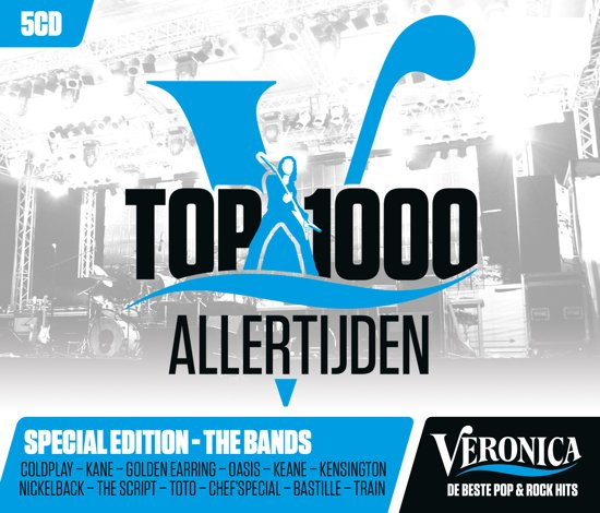 Veronica Top 1000 Allertijden - 2017