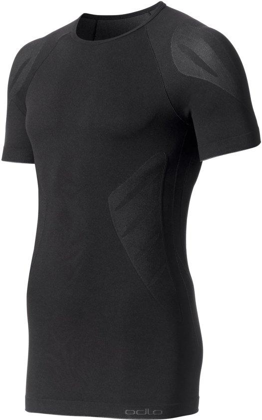 Odlo Evolution Light - Sportshirt - Heren - Zwart - Maat S