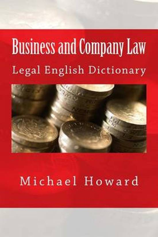 business and company law