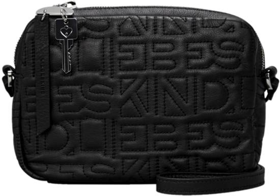 Small Liebeskind Urban Black Monogram Crossbody CCtPq