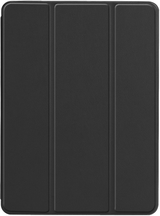 iPad Air 2019 Hoes (10.5) - Tri-Fold Book Case - Zwart