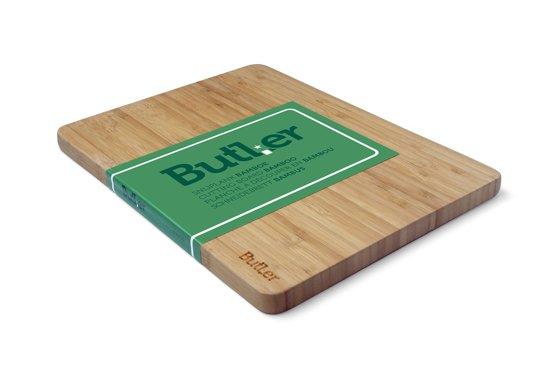 Butler Snijplank - Bamboe - 340x255x18mm