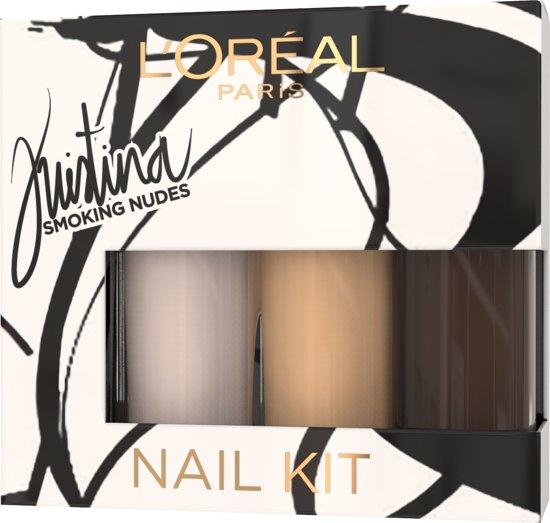 L'Oréal Paris Kristina Bazan Nagellak Kit - Geschenkset