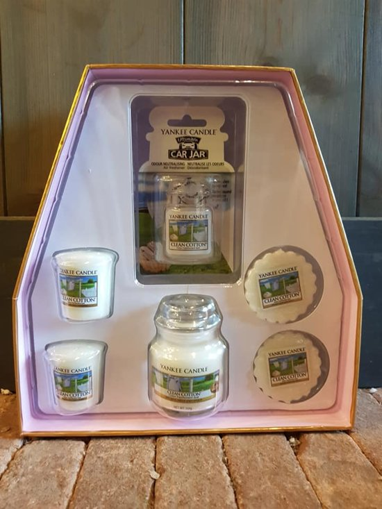 Yankee Candle Every Day Fragrance Gift Set - 25.5x26.5 Cm - Roze