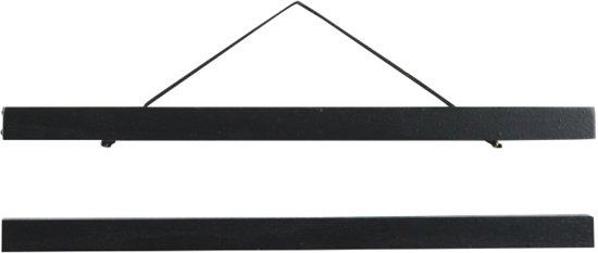 Poster Display Hanger Frame voor A3 poster | Hout | 30 cm | Zwart