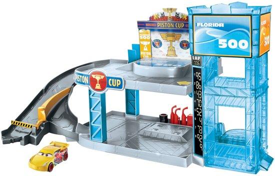 Afbeelding van Cars 3 Piston Cup Garage Speelset
