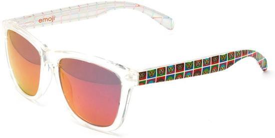 4e604dbe90f1df EMOJI zonnebril - Wit rood - Apen
