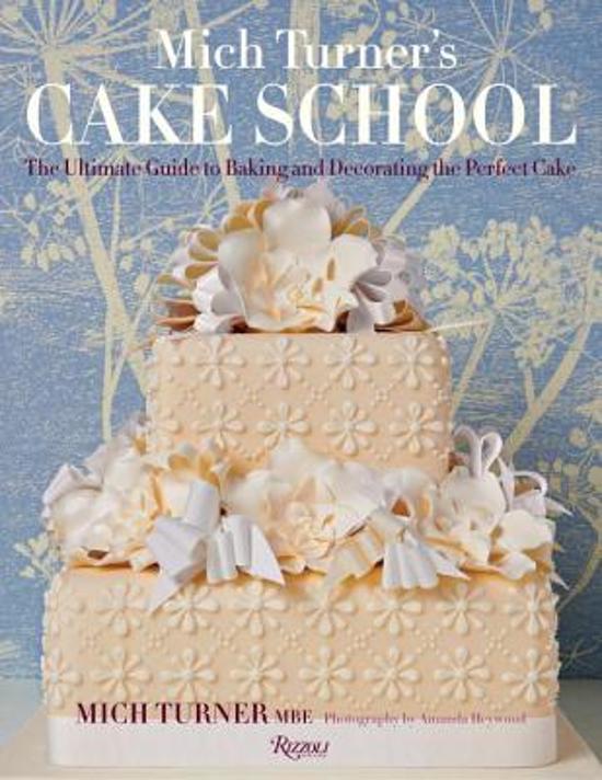 Boek Cover Mich Turners Cake School Van Turner Hardcover