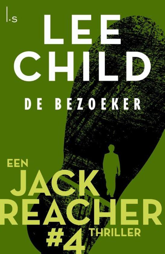 Boekomslag voor Jack Reacher 4 - De bezoeker