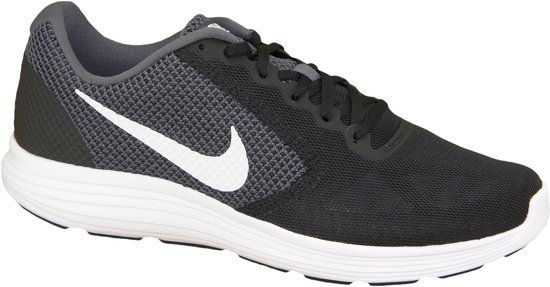 super populaire bff8f acbca Nike Revolution 3 Sportschoenen - Maat 44 - Mannen - zwart/grijs/wit