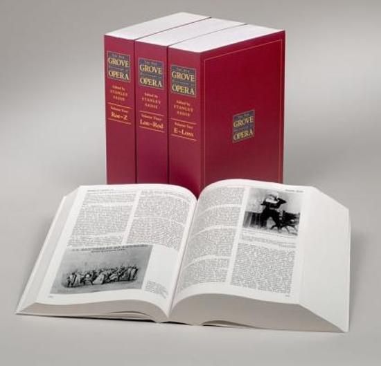 Afbeelding van The New Grove Dictionary of Opera