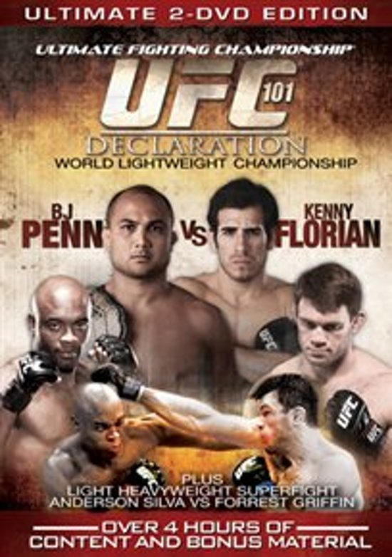 Cover van de film 'UFC 101 - Declaration'