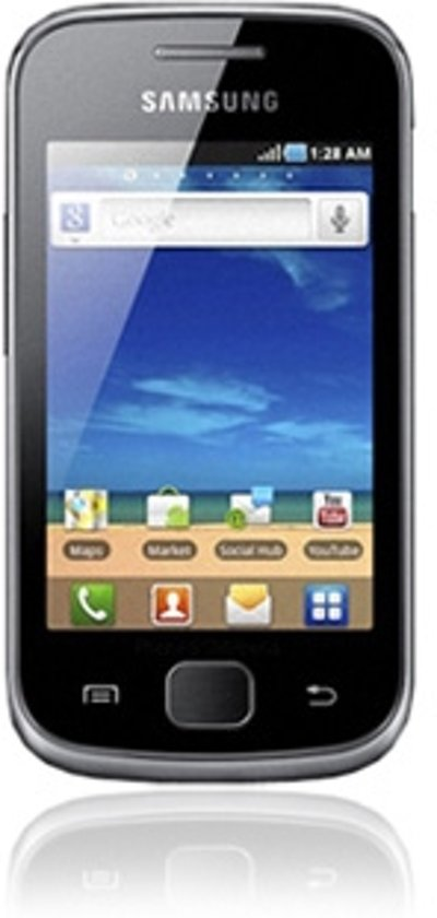 Samsung Galaxy Gio (S5660) - Zwart - Vodafone prepaid telefoon