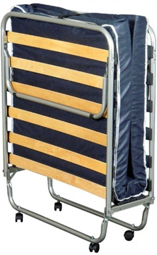 Boxspring Company Inklapbaar bed - blauw - 80x190 cm