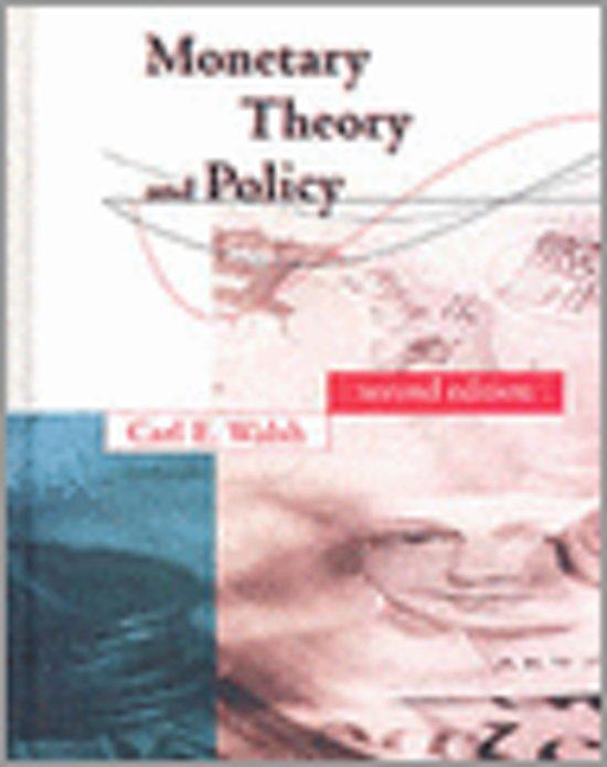 Monetary Theory & Policy 2e