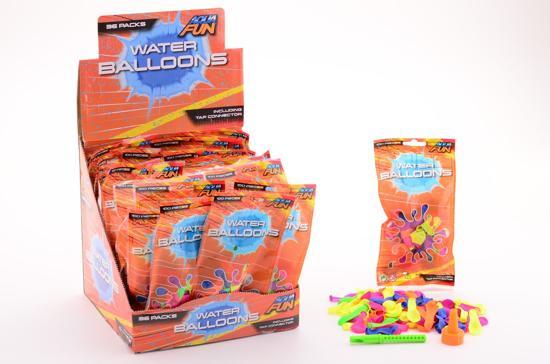 Aqua Fun 100 stuks waterbommen in zak