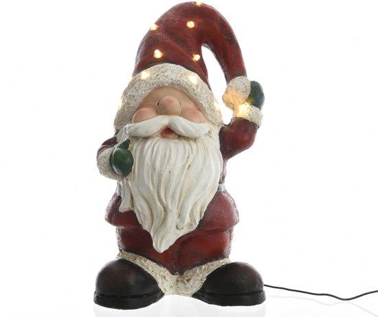 Led Kerstman voor buiten (50 cm) Red