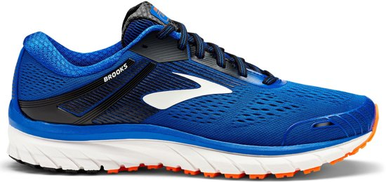 Brooks Adrenaline GTS 18 Sportschoenen - Maat 41 - Mannen - blauw/ wit