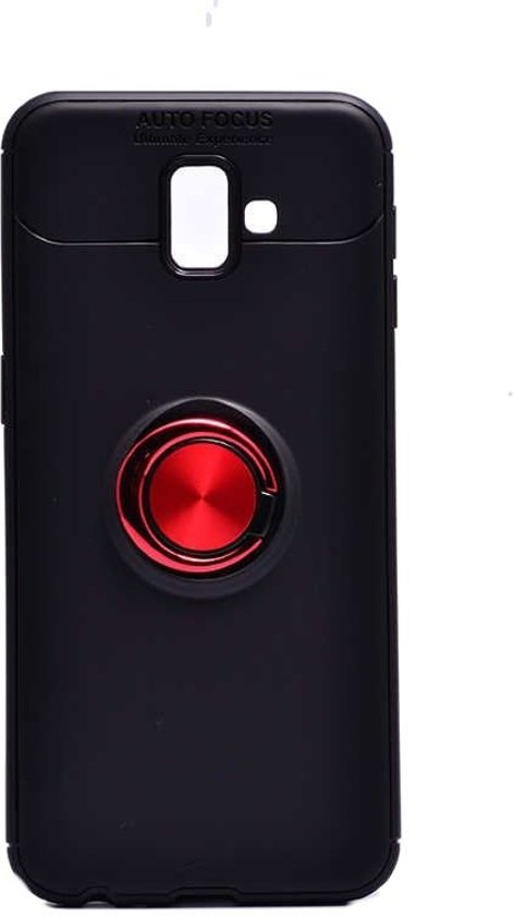 Teleplus Samsung Galaxy J6 Plus Ravel Ring Silicone Case Mixed Color hoesje