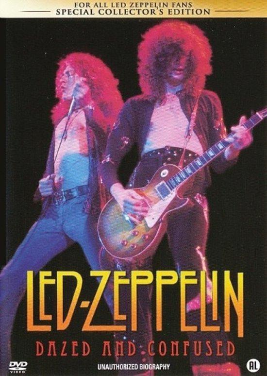 Cover van de film 'Led Zeppelin - Dazed & Confused'