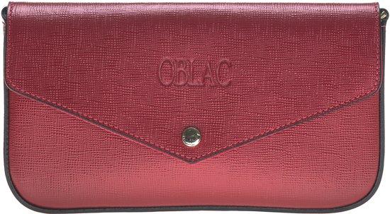 Clutch Handgemaakt Schouder Echt Koraalrood Leder TasSaffiano Van Crossbody ® Premium Oblac Kalfsleer Y6g7Ifvby