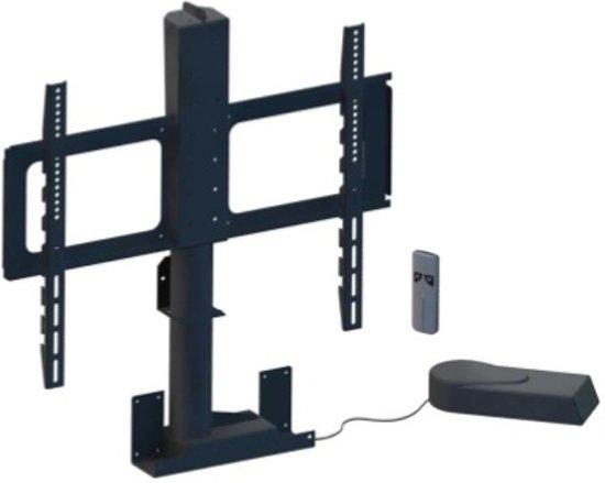Tv Meubel Met Lift 55 Inch.Bol Com Linak Tv Meubel Zwart Staal