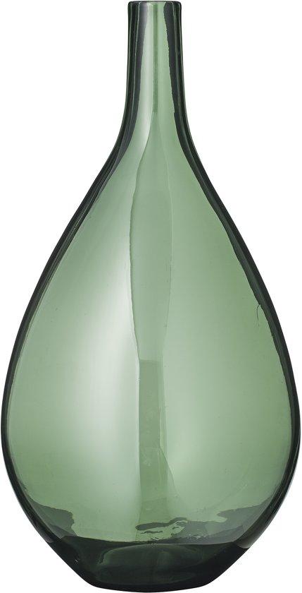 Bloomingville - Vaas - Glas - ø21,5cm - Groen