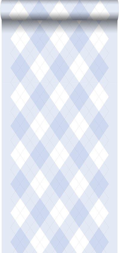 Baby Blauw Behang.Bol Com Behang Ruiten Baby Blauw 114924 Van Estahome Nl