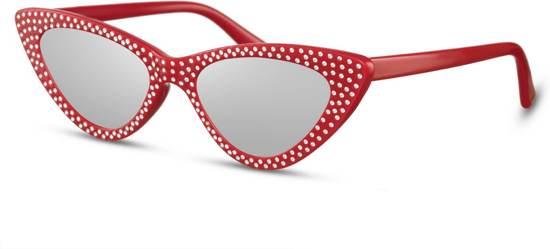 a6813e8c3cf67e Cheapass zonnebrillen - Cat eye zonnebril - Goedkope zonnebril - Dames -  Trendy
