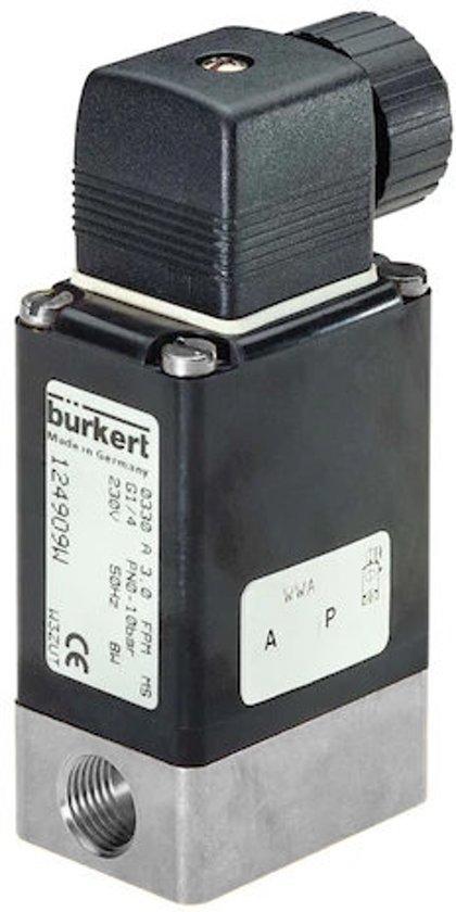 2/2 G1/4'' RVS NO 24VDC Zuurstof Magneetventiel 0330 141928 - 141928