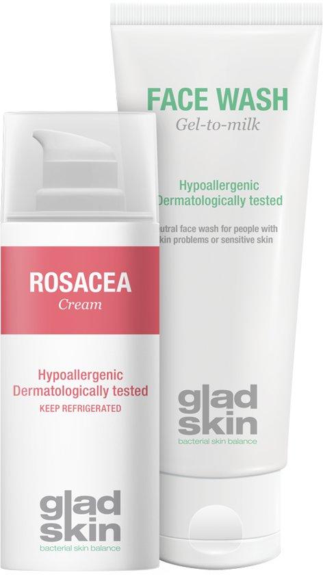 Gladskin Rosacea Cleansing Set