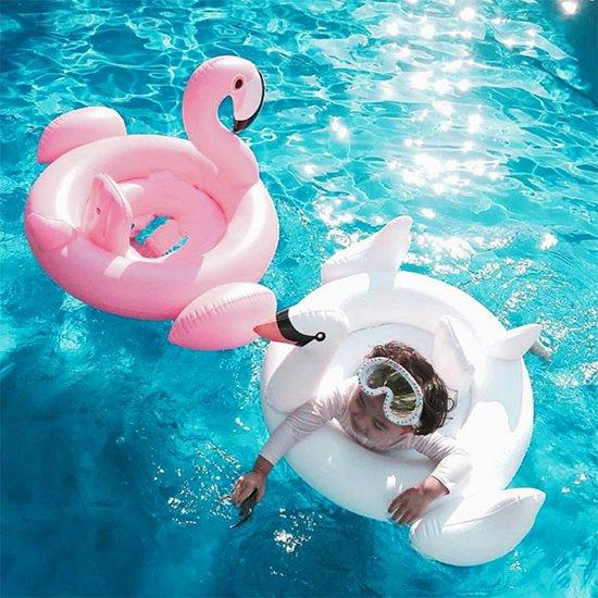 Opblaasbare Flamingo Baby - Heerlijk zwemmen - opblaas flamingo - flamingo spullen - opblaasbare dieren - flamingo zwemband