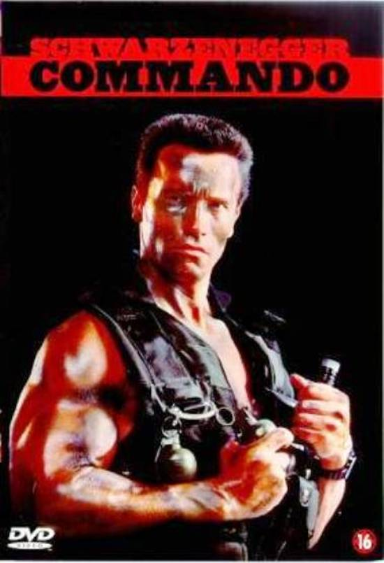 Cover van de film 'Commando'