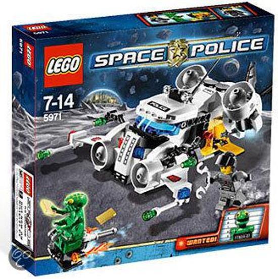 LEGO Space Police - De Goudroof 5971