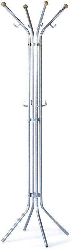 V-Part Staande Kapstok - Kapstok- Staand - 58x175cm - Metaal - Grijs