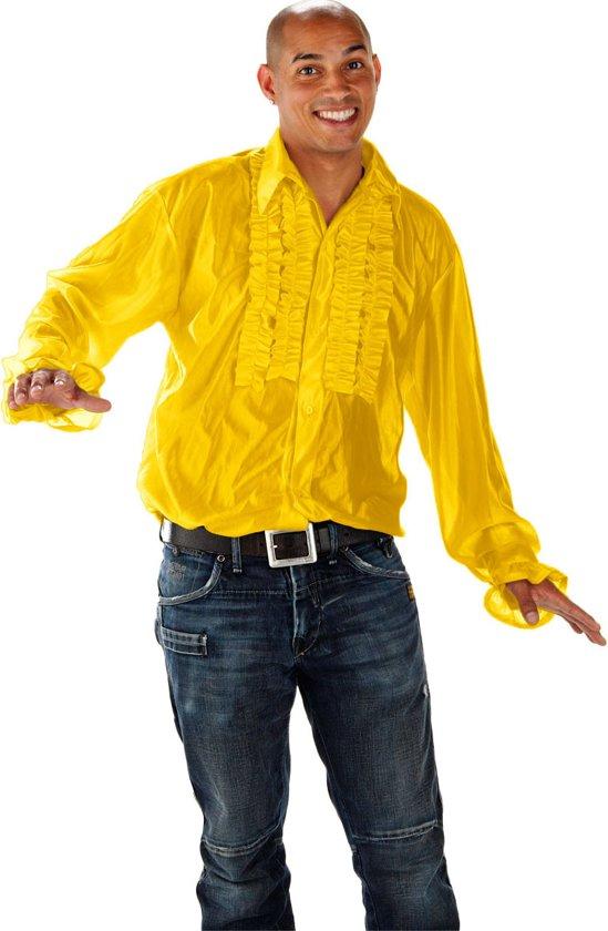 Disco Shirt - Geel - Maat XL/XXL