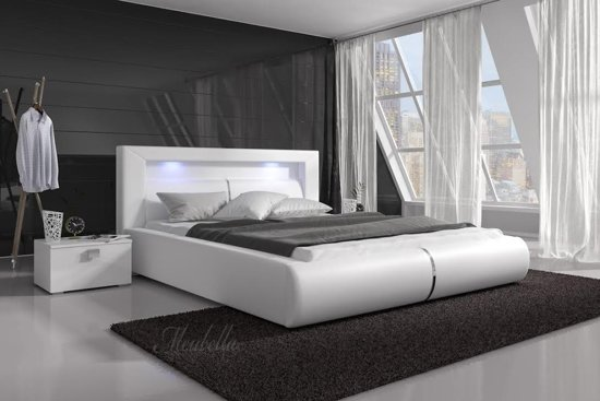 bol bed cylano wit 140x200 cm