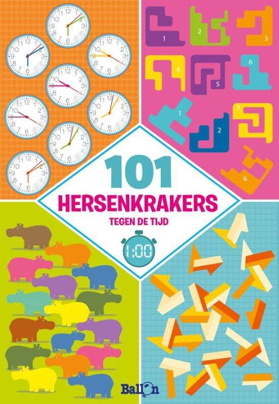 Logische puzzels 101 hersenkrakers tegen de tijd