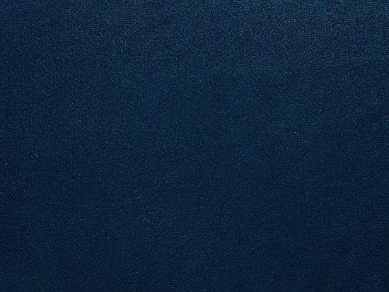 Beliani Falun 3-Zits bank Blauw Stof