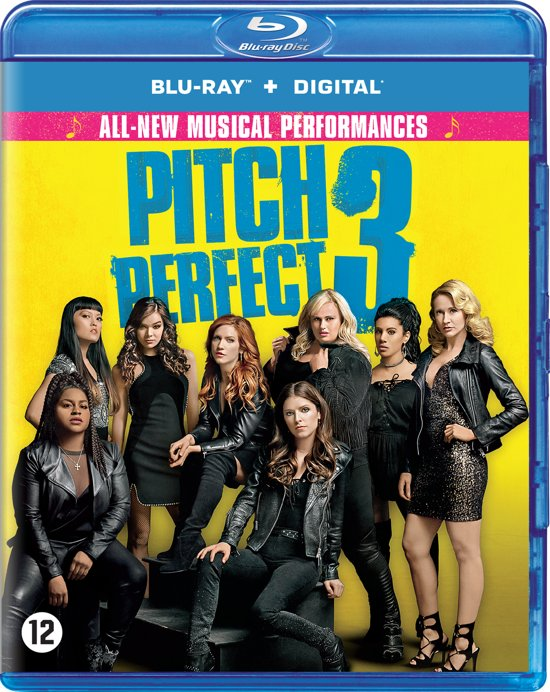 DVD cover van Pitch Perfect 3 (Blu-ray)