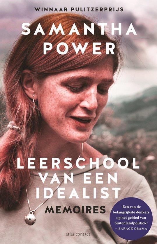 Boek cover Leerschool van een idealist van Samantha Power (Onbekend)