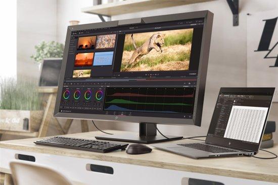 HP DreamColor Z27x 27'' 4K Ultra HD LED Mat Zwart computer monitor