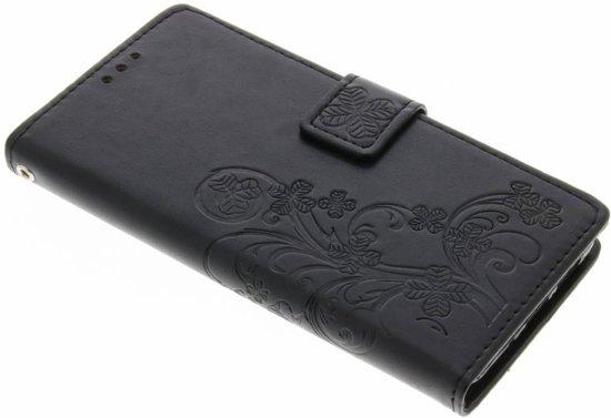Fleurs De Trèfle Gris Case Booktype Pour Huawei P10 xf7xP3R