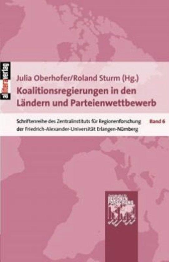 Koalitionsregierungen in Den L ndern Und Parteienwettbewerb