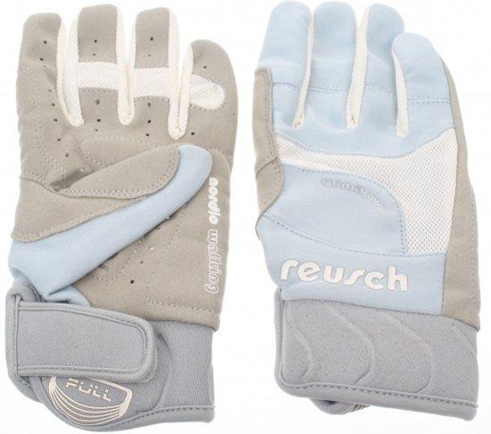 Reusch Nordic walking handschoen snow walker lichtblauw wit - Maat 7,5